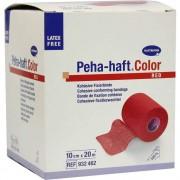 PAUL HARTMANN AG Peha Haft Color Fixierbinde Latexfür10cmx20m Rot
