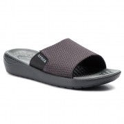Чехли CROCS - Literide Mesh Slide M 205611 Black/State Grey