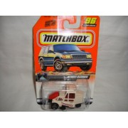 STREET CLEANER Matchbox #96 OF 100 ON THE ROAD AGAIN Series Street Cleaner 1:64 Scale Collectible Die Cast Car