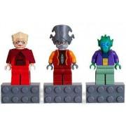 LEGO Star Wars Magnets Set #4585395 Chancellor Palpatine, Nute Gunray, Onaconda Farr