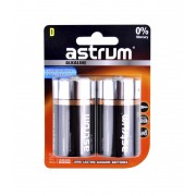 Astrum AAB020 Alkaline D LR20 Battery 2PC Pack