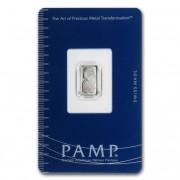 PAMP Švýcarsko investiční platinová cihla 1 g