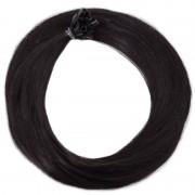 Rapunzel of Sweden Nail Hair Premium Straight 1.2 Black Brown 50cm