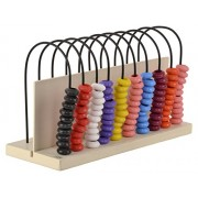 Skillofun Wooden Abacus Turn Around (10-10), Multi Color