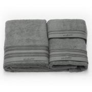Set de 3 prosoape baie Valentini Bianco TM703/1127