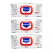 Mustela Toalhetes de Limpeza Sem Perfume 3x70 Un
