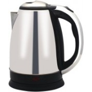 Benison India ™MS -88 Hot Water Pot Portable Boiler Tea Coffee Warmer Heater Cordless Electric Kettle(1.82 L, Silver)