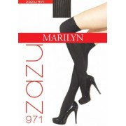 Marilyn - Rib over the knee socks Zazu, 100 DEN