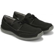 Clarks Marus Edge Casuals For Men(Black)