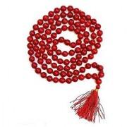 Natural Coral Beads Mala Natural Certified Moonga Beads By Jaipur Gemstone