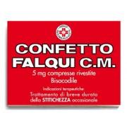Falqui Prodotti Farmac. Srl Confetto Falqui Cm 5 Mg Compresse Rivestite 20 Compresse