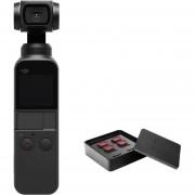 Dji Osmo Pocket Camara Gimbal 3 Axis + Kit Filtros Pro