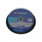 VERBATIM BD-R DL(10-pack)50GB/6x/spindle