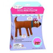 My Studio Girl Sew-Your-Own Flatsie Mini Cushion Kit, Dog