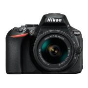 Nikon D5600 Aparat Foto DSLR 24.2MP CMOS Kit cu Obiectiv AF P 18 55mm VR Negru