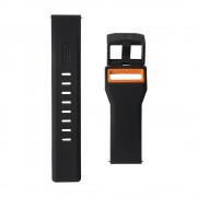 Curea silicon UAG Civilian Strap Samsung Galaxy Watch (46mm) Black/Orange