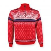Kama Fashion&Function Kama trui met Noors motief rood 471