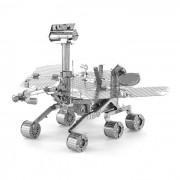 DIY 3D Puzzle montado modelo de coches de juguete Mars Rover - plata