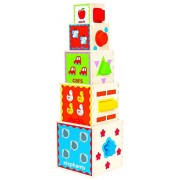 Hape-Wooden Pyramid of Play
