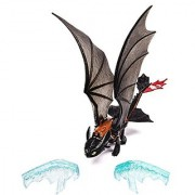 DreamWorks Dragons: How To Train Your Dragon 2 - Power Dragon - Toothless (Ice Fling Action)