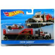 Hot Wheels City: Crew Carrier autószállító kamion kisautóval