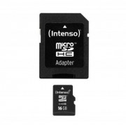 Intenso Intenso Micro SD 16GB Class 10 4034303016136 Replace: N/A