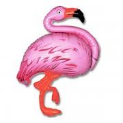 "Fólia lufi, mini forma, flamingó, 14"""