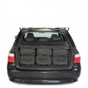 Car-Bags BMW 5 series Touring (2003-2010) 6-Delige Reistassenset zwart