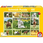 Puzzle Puii animalelor domestice, 100 piese