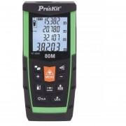 Medidor De Distancia Digital Proskit Nt-8580 Laser 80 Metros