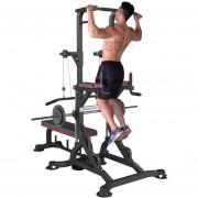 Máquina PRO multifuncional dominadas barra gym - 40 en 1