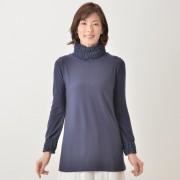 day to day 吸湿発熱シャーリングシフォンプルオーバー【QVC】40代・50代レディースファッション