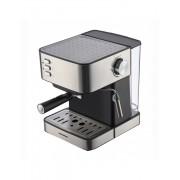 Espressor Heinner HEM-B2016BKS, 850W, 20 bar, rezervor apa detasabil 1.6l, filtru din inox, decoratii inox