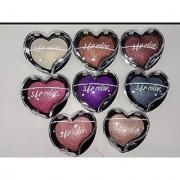 SFR Heart Shape Shimmer Baked Eye Shadow Set Of 06