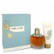 Girl of Now by Elie Saab Gift Set -- 3 oz Eau De Parfum Spray + 2.5 oz Body Lotion