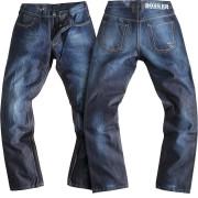 Rokker Revolution Jeans Motorcykelbyxor Blå 38