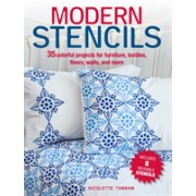 Modern Stencils - 35 Colorful Projects for Furniture, Textiles, Floors, Walls, and More (Tabram Nicolette)(Paperback) (9781782495499)