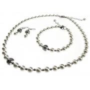 Set clasic perle albe tip Mallorca