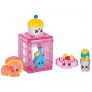 Pachet 5 figurine Shopkins Colectia Europa Pink