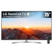LG pantalla lg nanocell tv ai thinq 4k 75 pulgadas 75sk8050pua