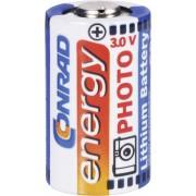 Baterie foto litiu CR2, 3 V, 750 mAh, Conrad energy