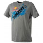 Kini Red Bull Chopped T-shirt S Šedá