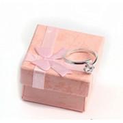 Cutie de bijuterii roz pentru cadou
