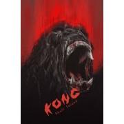 Kong Wyspa Czaszki - plakat premium