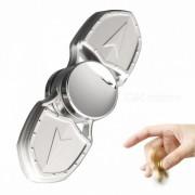 Alicates de aleacion de cobre para aliviar el estres Gyro Rotator Spinner - Plata