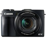 Canon PowerShot G1X Mark II digitale camera (12,8 MP, CMOS sensor, 5-voudige optische zoom, 1:2-3, 9, 24 mm groothoek, Full-HD) zwart