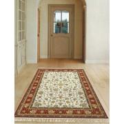 Műselyem szőnyeg B., cream -red/Cikksz:0530501
