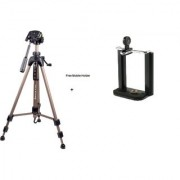 Sonia PH 8 Tripod with free Bag and Mobile Holder (Load Capacity Upto 3000 grams)