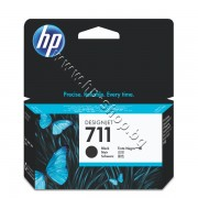 Мастило HP 711, Black (38 ml), p/n CZ129A - Оригинален HP консуматив - касета с мастило