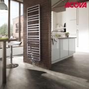 ACOVA Sèche-serviette ACOVA - KADRANE SPA Mixte INOX 569W / 500W - AKARI-190-055/GF